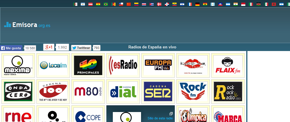emisoras radio on line: