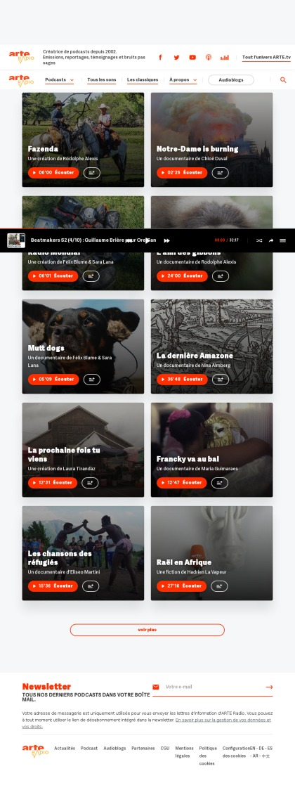 Screenshot_2019-07-22 Fermez les yeux ARTE Radio